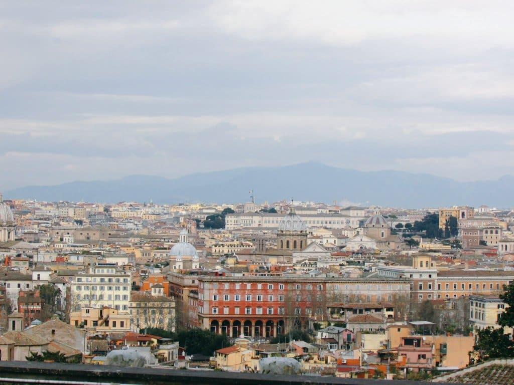 ローマの町並